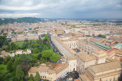 The Vatican gardens Royalty Free Stock Images