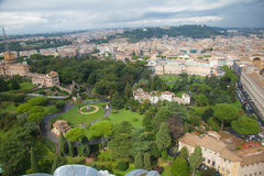 The Vatican gardens Stock Photography