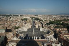 Vatican-the god`s key stock image