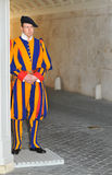 Vatican guard Royalty Free Stock Photo