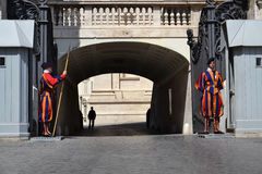 Vatican Guard Royalty Free Stock Images