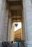 vatican Heiligespeters Quadrat Stockbild