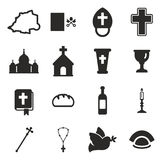 Vatican Icons Stock Photography