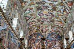 Vatican insida Royaltyfri Fotografi