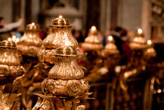 Vatican insida Royaltyfri Bild