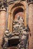 Vatican inside. The saint peter basilica at the Vatican stock photos