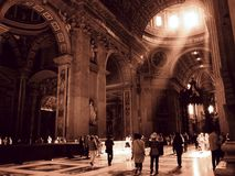 Vatican intérieur Photo stock