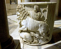 Vatican italy rome sculpture museum Royalty Free Stock Image