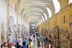 VATICAN - 20 JUILLET : Statue de delle de puits le 20 juillet 2010 dans le musée de Vatican. Photographie stock libre de droits