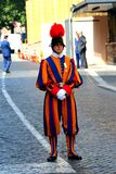 Vatican-Knight Of The Swiss Guard. Royalty Free Stock Photos