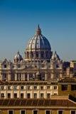Vatican kupol Arkivfoto