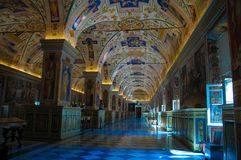 Vatican Library Interior, Arts, Religion, Rome