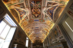 The Vatican library, Vatican museum, Vatican city Stock Photos