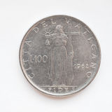 Vatican lira coin Royalty Free Stock Images