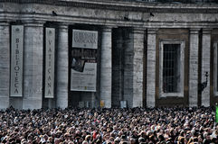 Vatican mass Royalty Free Stock Images