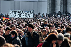 Vatican mass Stock Photo