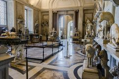 Vatican museum Stock Photography
