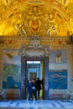 Vatican museum. Visiting Vatican museum on 11 January 2014 in Rome Royalty Free Stock Photos