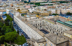 Vatican museum aerial view Stock Photography