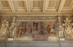 Vatican museum art detail Stock Image