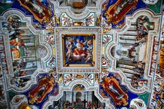 Vatican Museum Ceiling royalty free stock images