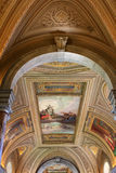 Vatican museum detail. Detail of ceiling in Vatican museum, Italy Stock Photography