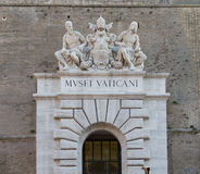 Vatican Museum Entrance Royalty Free Stock Images