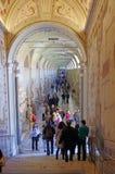 Vatican Museum Gallery Stock Image