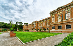 Vatican museum and garden, Rome Royalty Free Stock Images