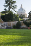 Vatican museum and garden Royalty Free Stock Photography