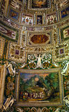 Vatican Museum Inside Map Room Rome Royalty Free Stock Photo