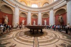 Vatican museum interior Royalty Free Stock Photos