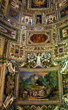 Vatican Museum Map Room Rome Royalty Free Stock Photos