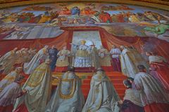 The Vatican Museum one of the largest museums in the world Vatican Galleries Stock Photography