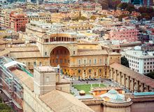 Vatican Museum of Rome Royalty Free Stock Photo