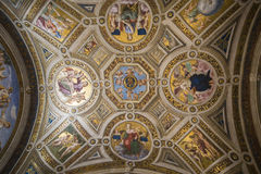 Vatican museum room Stock Photos