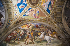 Vatican museum room Stock Photography