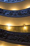 Vatican museum stairs Royalty Free Stock Images