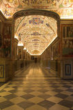 Vatican museums - corridors Royalty Free Stock Photos
