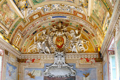 Vatican Museums - Gallery of Vatican. Italy, Rome. Stock Images