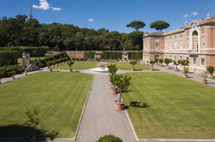 Vatican Museums. The Gardens of the Vatican Museums Royalty Free Stock Photo