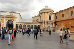 Vatican Museums. Rome Stock Photo