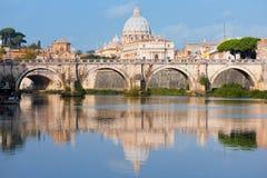 Vatican na manhã foto de stock