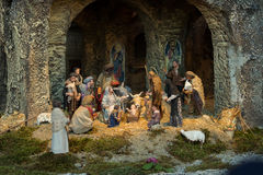 Vatican nativity royaltyfri bild