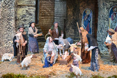 Vatican nativity scene Royalty Free Stock Photo