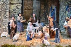Vatican nativity scene Royalty Free Stock Photo