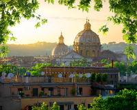 Vatican and nature Stock Photo