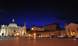 Vatican by night. Royalty Free Stock Photos