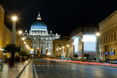 Vatican by night Stock Photo