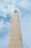 Vatican obelisk from ground point of view Stock Photography